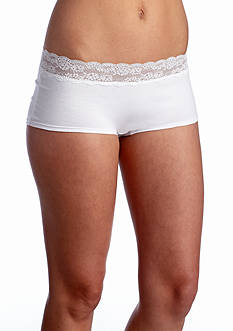 New Directions® Intimates Solid Wide Lace Boyshort -  BS91278P