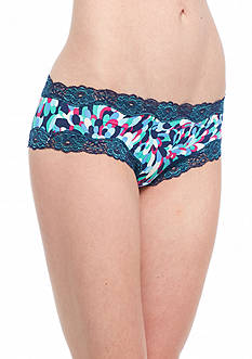 New Directions Printed Lace Trim Hipster - H91137P