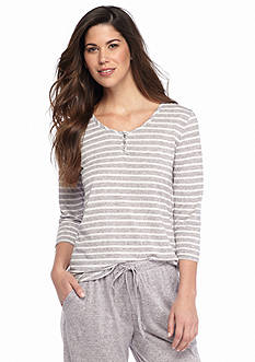 ND® Intimates Marble Stripe Henley Top
