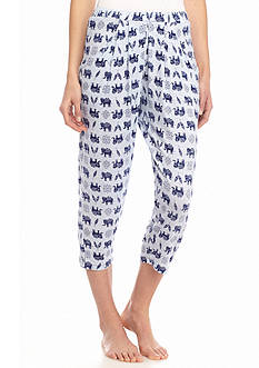 New Directions® Intimates Printed Pleat Capris