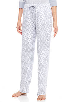 New Directions Printed Drawstring Pants