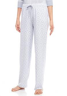 New Directions Printed Drawstring Pants