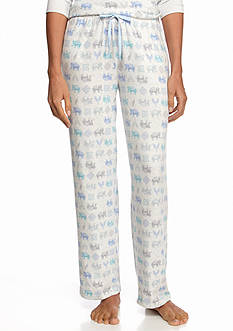 New Directions Printed Joggers with Pockets