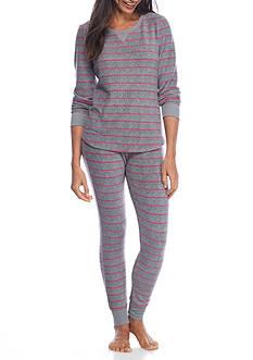 New Directions Fleece Pajama Set