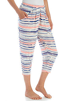 New Directions® Printed Capri Sleep Pant - BK2457