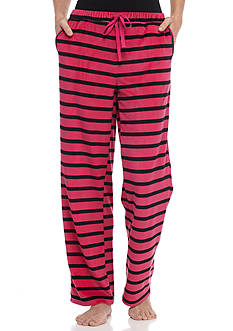 Goodnight Kiss™ Pink Stripe Velour Pant