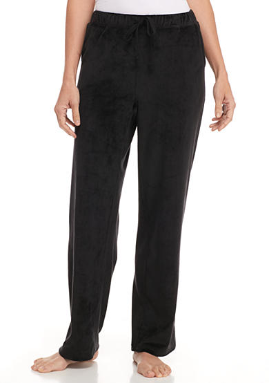 Dream Lounge Black Velour Pants