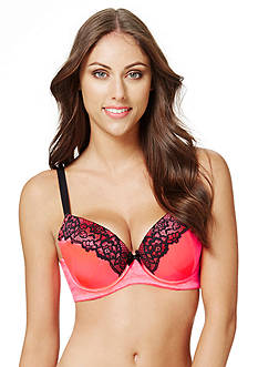 Perfects Australia Eliza Curve It Up Satin Lace Balconette T-Shirt Bra 14UBR97