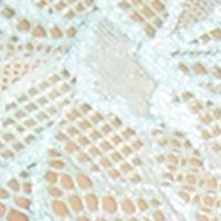 Plus Size Lingerie: Full Figure: Aqua Sky Perfects Australia Delightfuls Pretty Lace Soft Cup Bra - 14USC051