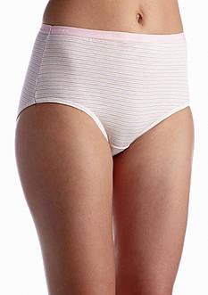 Hanes Platinum Cotton Creations Nude Brief 4 Pack - 40C4WD