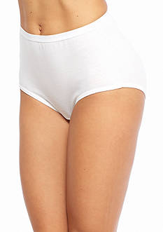 Hanes Platinum Cotton Creation Assorted Hi Cut Brief 5 Pack - 40C5B1