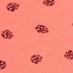 Women's Bikini Underwear: Calypso Roses Hanes Cotton Bikini - 42COTT