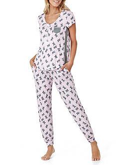 Layla Two-Piece Print Pajama Set