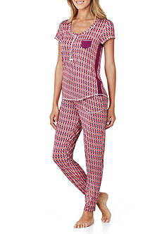Layla® Two-Piece Print Pajama Set