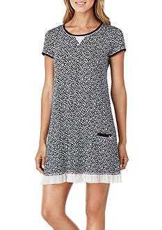 Layla Short Sleeve Ruffle Hem Sleepshirt