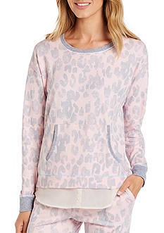 Layla Long Sleeve Pullover Shirttail Top
