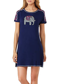 Layla Graphic Print Sleepshirt