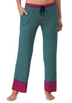 Layla Border Print Pajama Pants