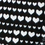 Pajama Sets for Juniors: Black Print Layla Micro Critter Pajama Set