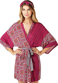 Layla Wrap Robe with Headband