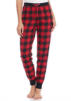 Sleep Riot™ Plaid Flannel Jogger Pants