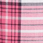 Womens Pajama Pants: Pink Plaid Sleep Riot™ Plaid Flannel Jogger Pants