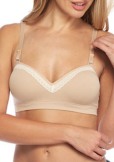 Hanes Natural Foam with Lift Wire-Free Bra - HP10