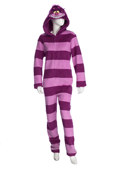 Briefly Stated Hooded Cheshire Cat One-Piece Pajama