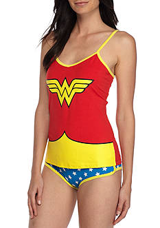 Briefly Stated Wonder Woman Tank Set