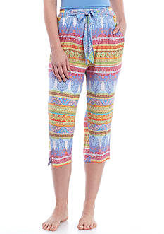 Echo Boho Capri Pants