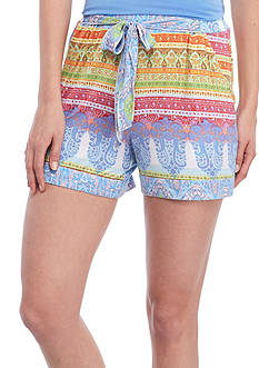 Echo Printed Boho Short