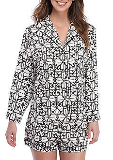 kate spade new york® Shortie Pajama Set