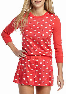 kate spade new york Sateen Skort Pajama Set