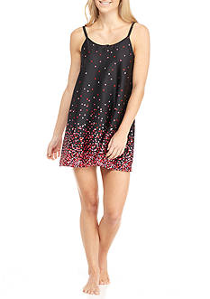 kate spade new york Charmeuse Chemise Sleep Dress