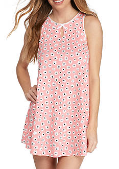 kate spade new york Printed Jersey Chemise