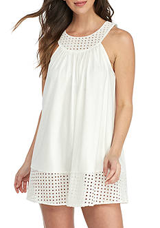 kate spade new york High Neck Interlock Chemise