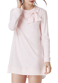kate spade new york Women's Light Pink Bow Sleepshirt