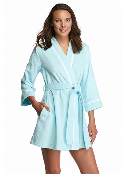 kate spade new york® Bridal Terry Wrap Robe