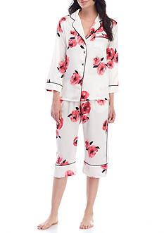 kate spade new york® Charmeuse Capri Pajama Set - 5091156