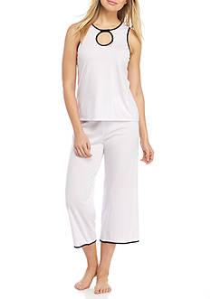 kate spade new york Keyhole Cami Capri Pajama Set