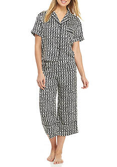 kate spade new york 2-Piece Cropped Pajama Set