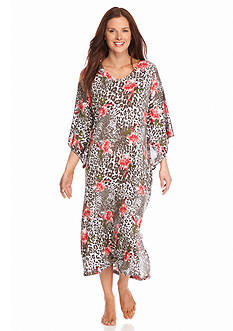 New Directions® Intimates Classic Printed Caftan