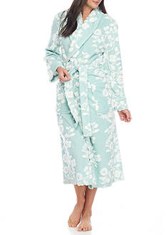 New Directions Royal Chenille Shawl Robe