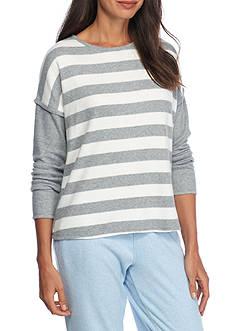 Nautica Stripe Sweater Knit Top