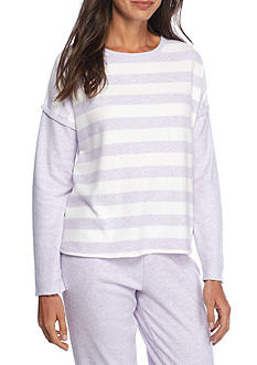 Nautica Stripe Sweater Knit Top