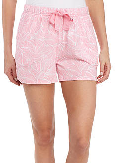 Nautica Printed Sleep Shorts