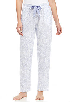 Nautica Printed Cotton Sleep Pants