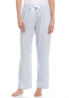 Nautica Printed Cotton Sleep Pants