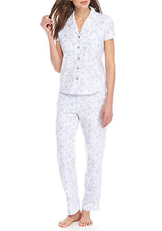 Nautica Short Sleeve Pajama Set