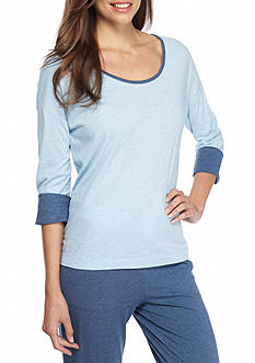 Nautica Cotton Modal Lounge Sleep Top